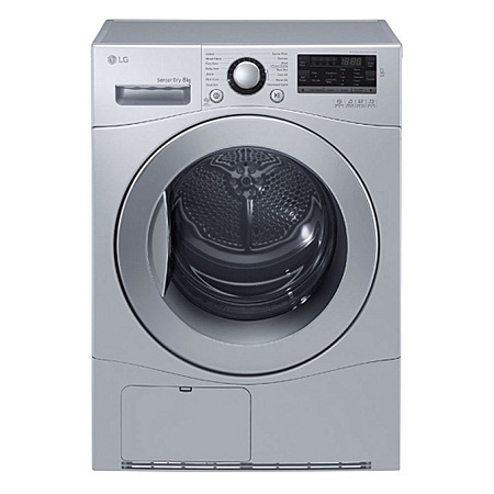 LG RC-8066CF - 8kg Condensing Dryer - Silver