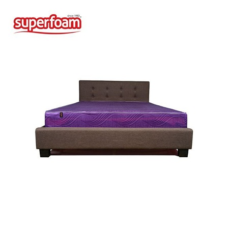 Superfoam High Density Plain Foam Mattress - Multicolored