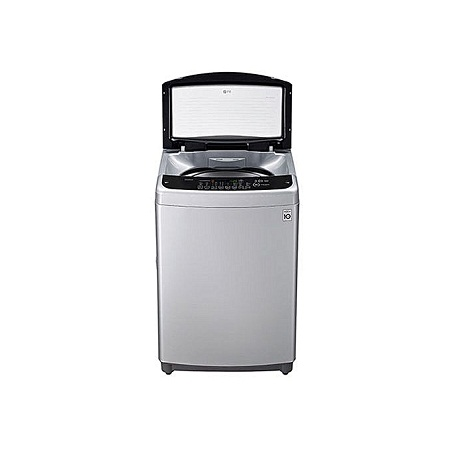 LG T1982WFFS5 - 19Kg Top Loading Washing Machine with Heater - Stainless Silver