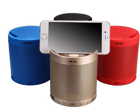 Q3 Bluetooth Speaker blue normal