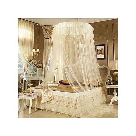 Round Decker Mosquito Net cream free size