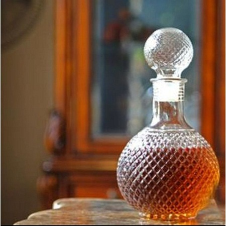 Whisky decanter clear clear 1 litre