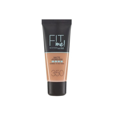 Maybelline New York Fit Me Matte And Poreless Foundation 30 Ml- 350 Caramel