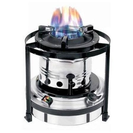 Portable Kerosene Stove - 2 Litre - Silver