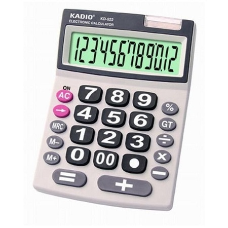 Kadio 922 Calculator 12-bit Display
