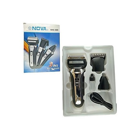 Nova 3 In 1 Electric Shaving Machine/Shaver