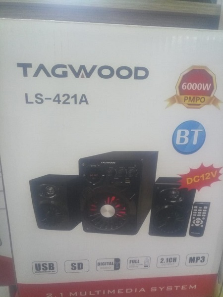 TAGWOOD Sub Woofer Multimedia System-BLUETOOTH/USB/FM-