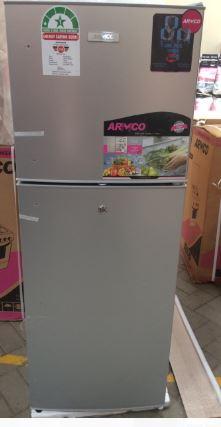 Armco Refrigerator, 138L, 2door, COOLPACK,Silver