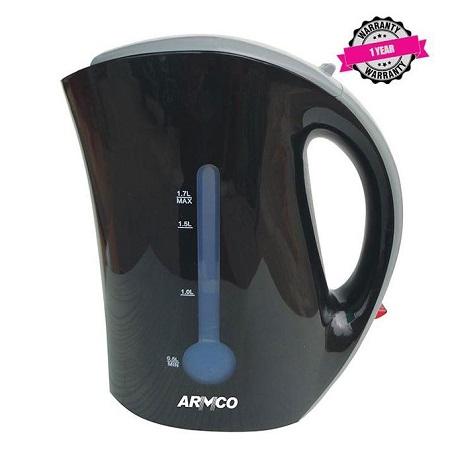 Armco AKT-161CD Cordless Kettle - 1.7L - Black
