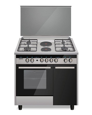 ARMCO GC-F9642PLB(SS) - 4 Gas, 2 Electric, 60x90 Professional Gas Cooker, Stainless Steel.