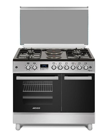 ARMCO GC-F9642ZBT(SL) - 4 Gas, 2 Electric, 60x90 Gas Cooker.