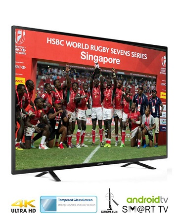ARMCO LED-T55SM-UHD - 55 Inch LED, Digital, SMART, 4K UHD TV, Wireless Keyboard.