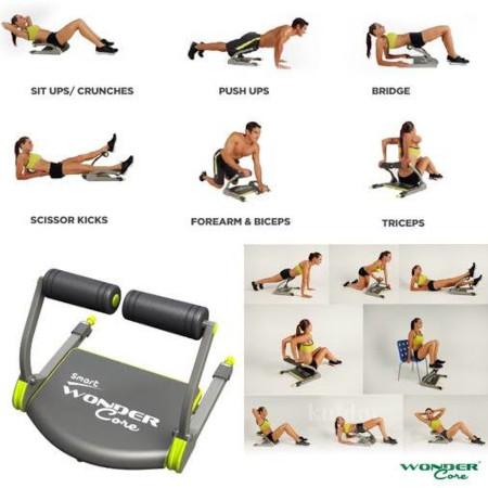 Smart wonder core for your Ab workout
