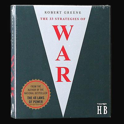 33 Strategies of War-Robert Greene (Physical Book)