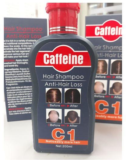 CAFFEINE HAIR SHAMPOO ANTI- HAIR LOSS