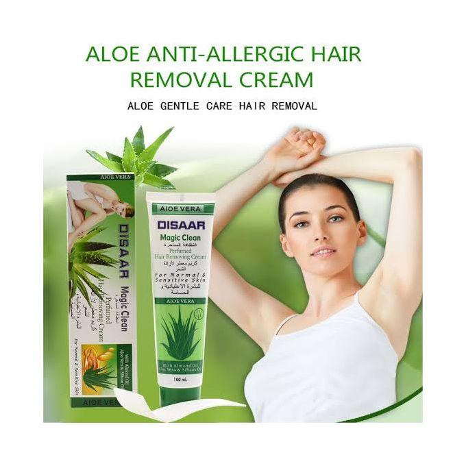 Disaar Magic Clean Aloe Vera Hair Removal Cream, 100ml