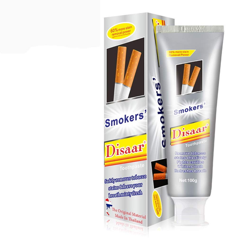 Disaar Beauty Go Smoke Stains Toothpaste Odor Removal Oral Problem After Cigateres 100G