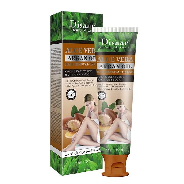Disaar aloe vera argan oil hair removal cream