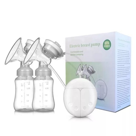 Electric Breast Pump, Portable Double Suction