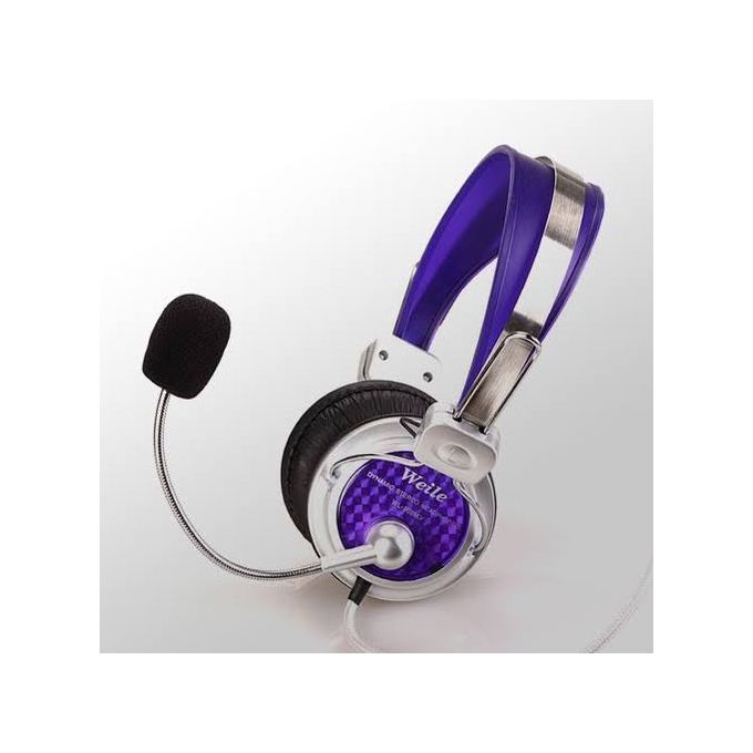 Headset With Noise Cancellation Mic Best Gaming, Skyping Headset