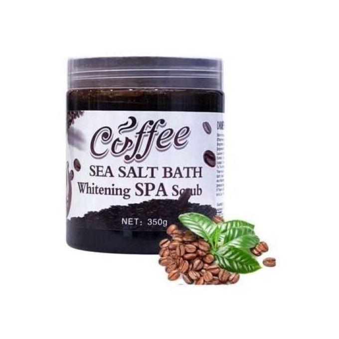 Meinaier Coffee Sea Salt Bath Whitening SPA Scrub 350g