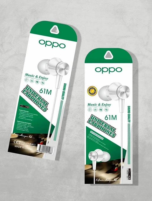 Oppo Universal Earphones 61m