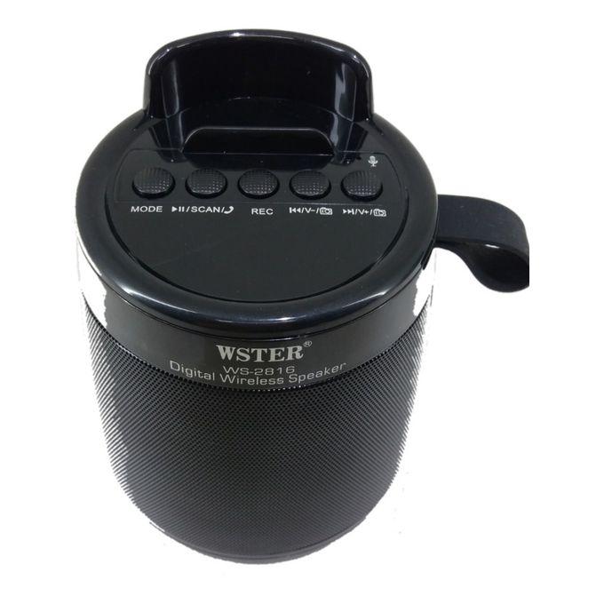 Wster WS-2816 Wireless Bluetooth Speaker Bass
