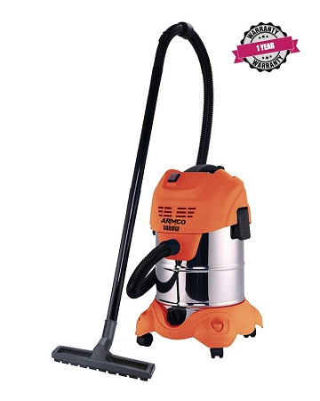 ARMCO AVC-WD2014M 20L Wet & Dry Drum Type Vacuum Cleaner