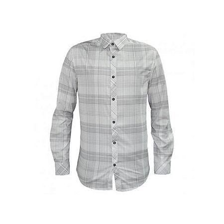 Zecchino White Checked Men's Casual Shirts