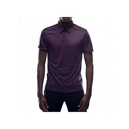 Zecchino Mulberry Short Sleeved Mens Plain Polo T-shirts