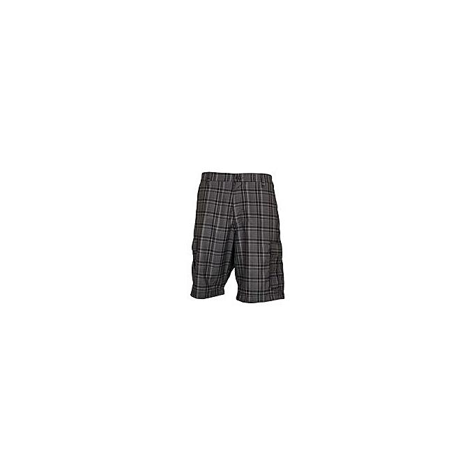 Zecchino Black Tip Checked Men's Stylish Shorts