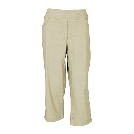 Forever Young Sand Woven Capri Pants