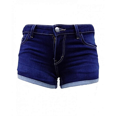 Forever Young Shorty Short- Blue