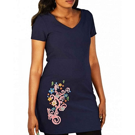 Forever Young Navy - Ladies dress