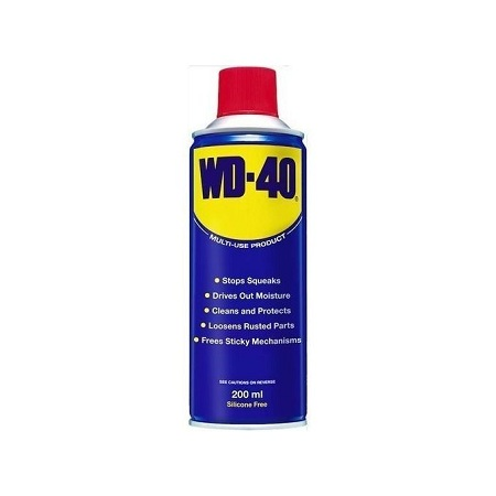 WD-40 Multi-purpose Chains, Gears, Hinge, Roller, Wheels Lubricant 400 ml aerosol