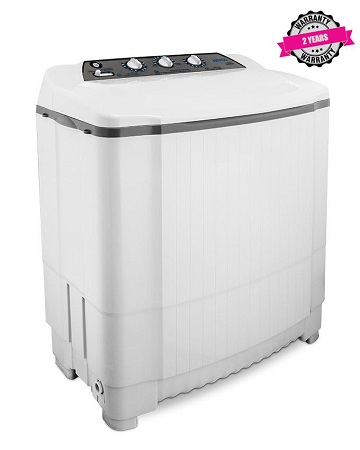 ARMCO AWM-TT905P - 9.0 Kg Twin Tub Washing Machine - White
