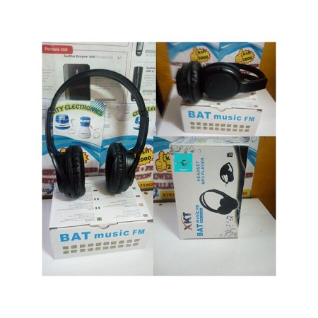 Bat Music Headphone