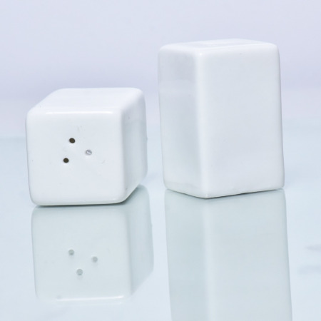 ceramic square salt shaker