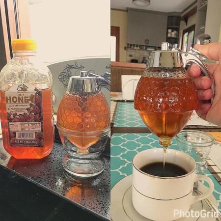 Acrylic Honey Dispenser Glass 200 ML
