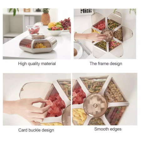 Acrylic Snack Box