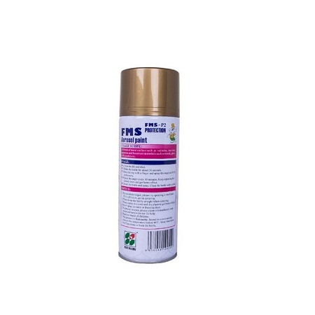 FMS Aerosol Paint Spray Gold