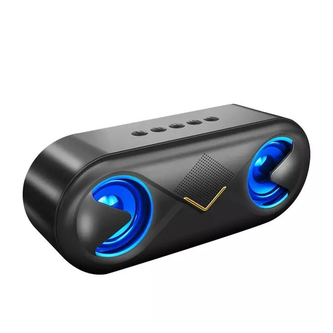 Generic Wireless Portable Speaker AUX - Black