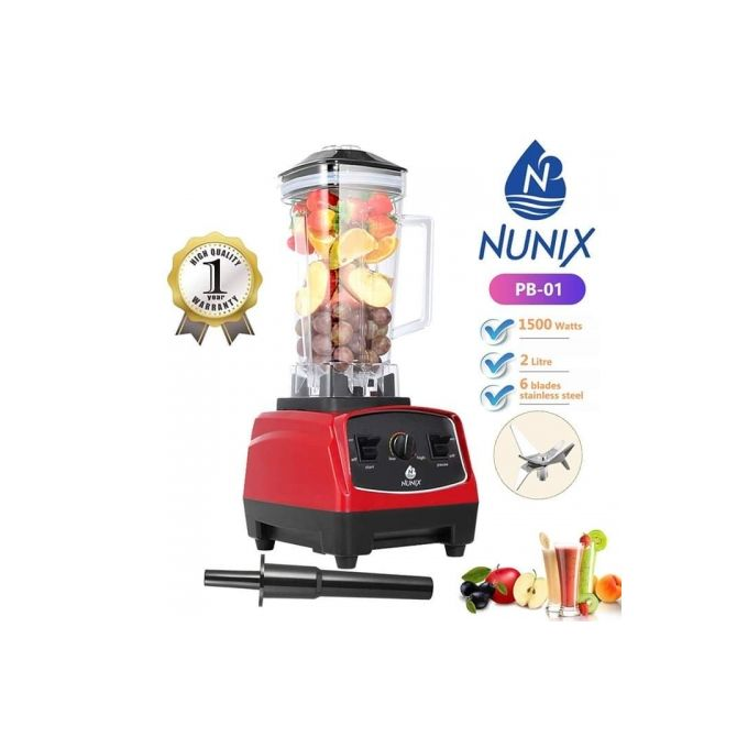 Nunix Heavy Duty Commercial Blender