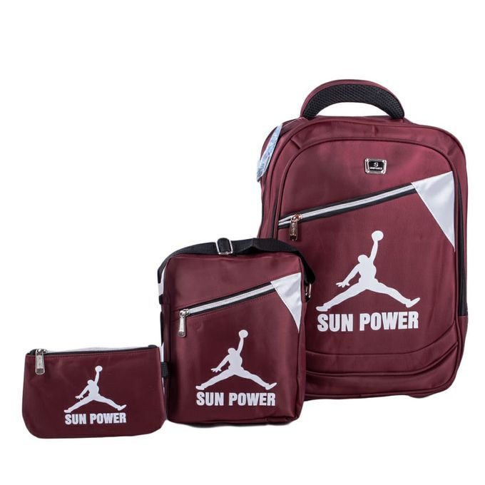 Fashion Sun Power 3 In 1 Backpack/Laptop Bags