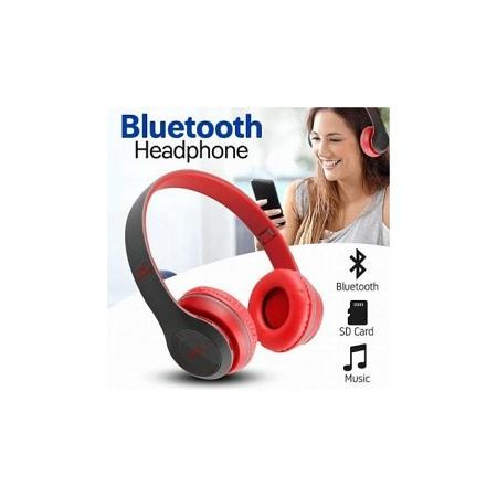 P47 Bluetooth Wireless Headphones Mic TF Card FM Radio