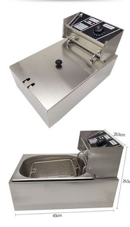 Owngreat Stainless Steel Electric Deep Frier 6 Litres