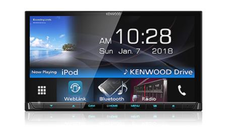 Kenwood DDX719WBTM AV Receiver with 7.0