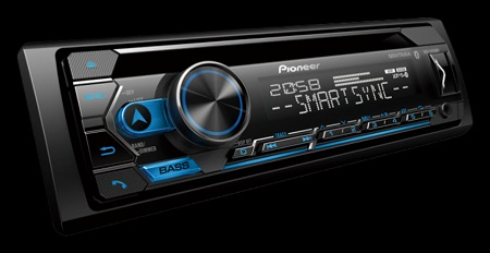 Pioneer DEH-S4250BT Car Radio With Bluetooth.