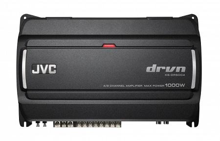 JVC KS-DR5004 1000 Watts 4 Channel Amplifier.