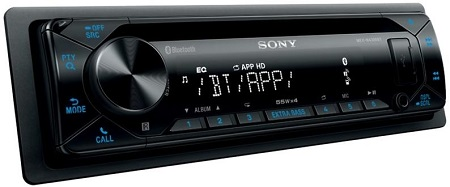 Sony MEX-N4300BT One Din Car Stereo.